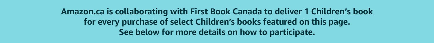 Amazon.ca is collaborating with First Book Canada