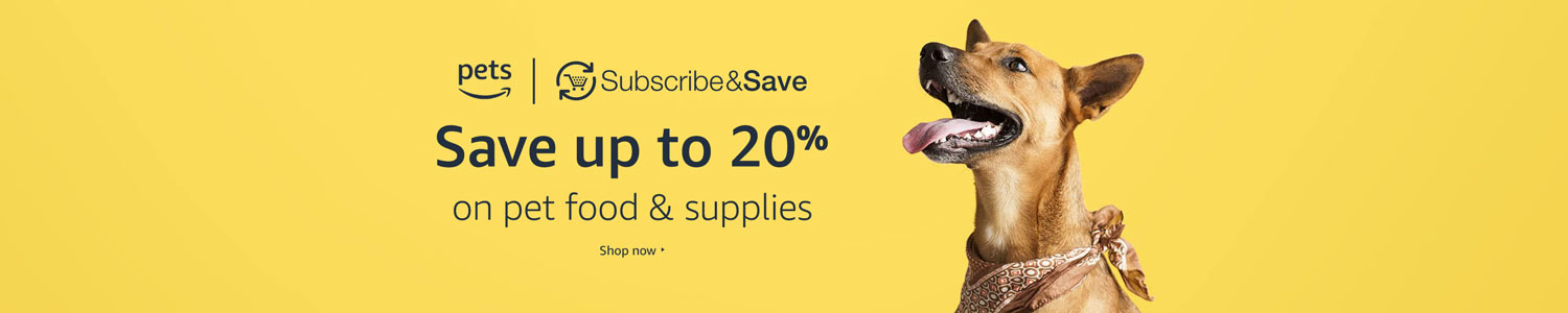 Save an extra 20% on your first Subscribe & Save order