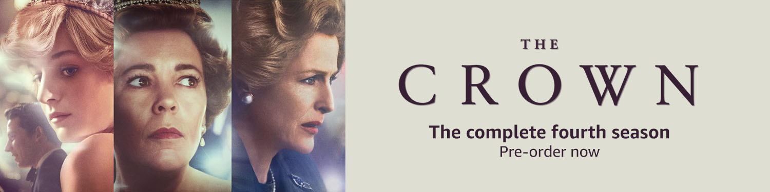 The complete fourth season of The Crown: Preorder Now