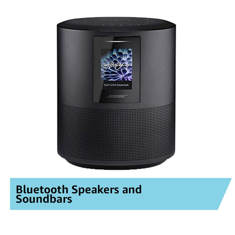 Featured Prodcuts: Bluetooth Speakers and Soundbars