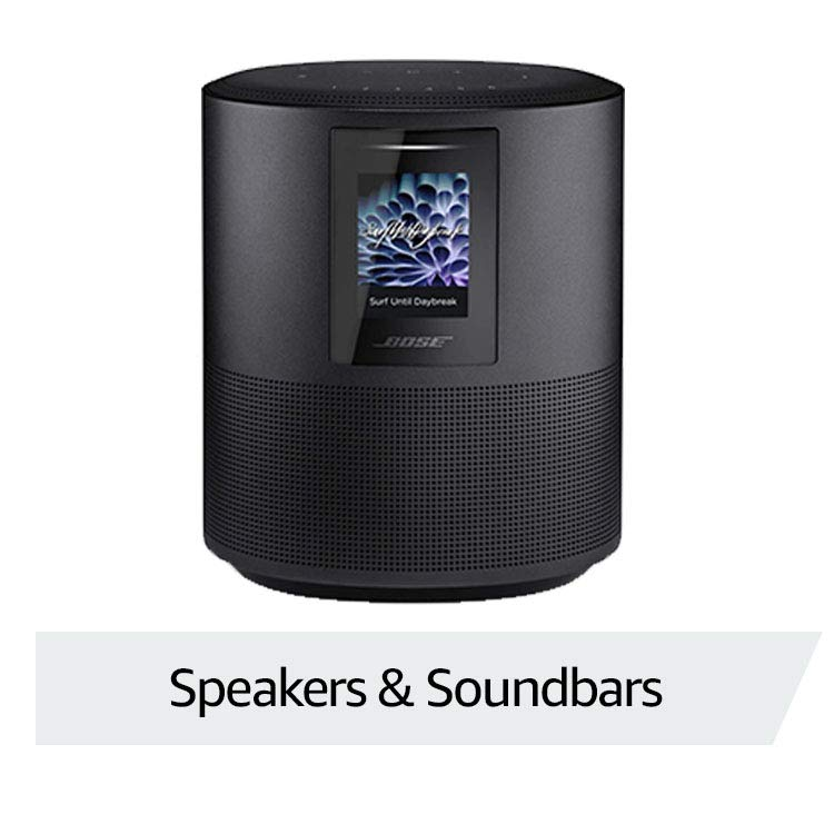 Handpicked speakers and soundbars