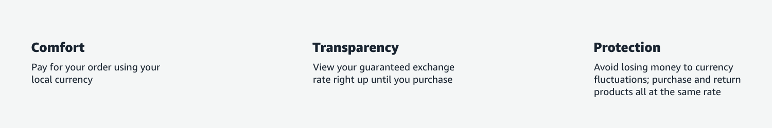Currency Converter Value Propositions: Comfort, Transparency, Protection