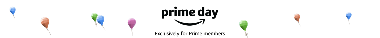 It's Prime Day! Exclusively for Prime members