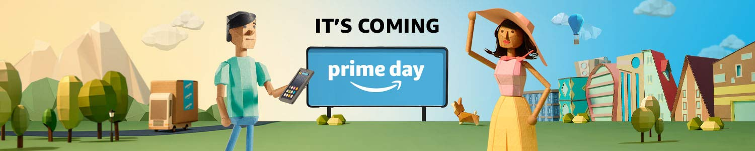 It's coming. Prime Day