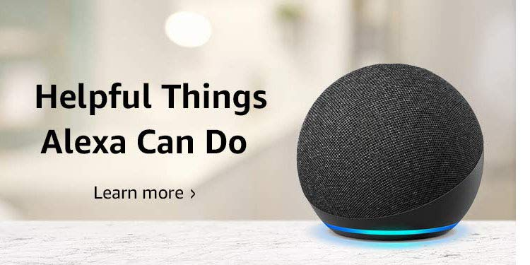 Helpful things Alexa can do