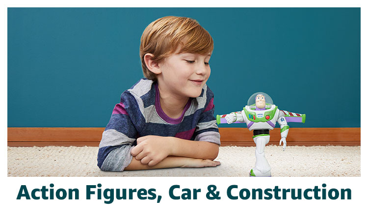 Action Figures, Car & Construction