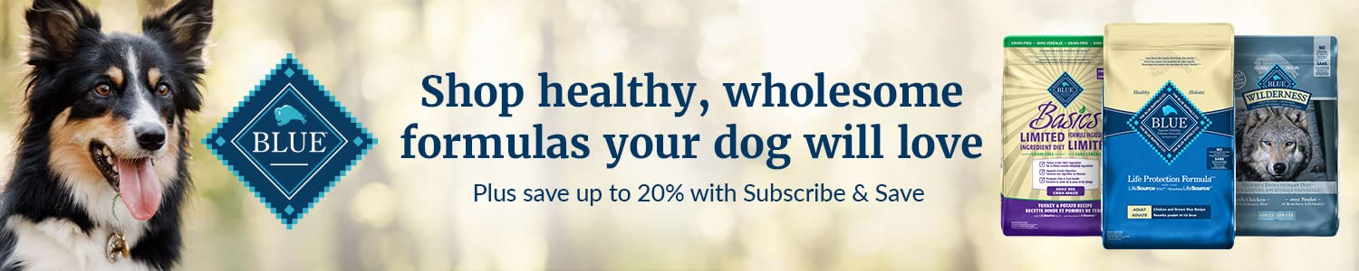 Blue Buffalo: Save up to 20% with Subscribe & Save