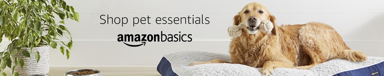 Shop pet essentials: amazonbasics