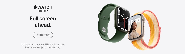 Apple Watch Series 7:  Full screen ahead