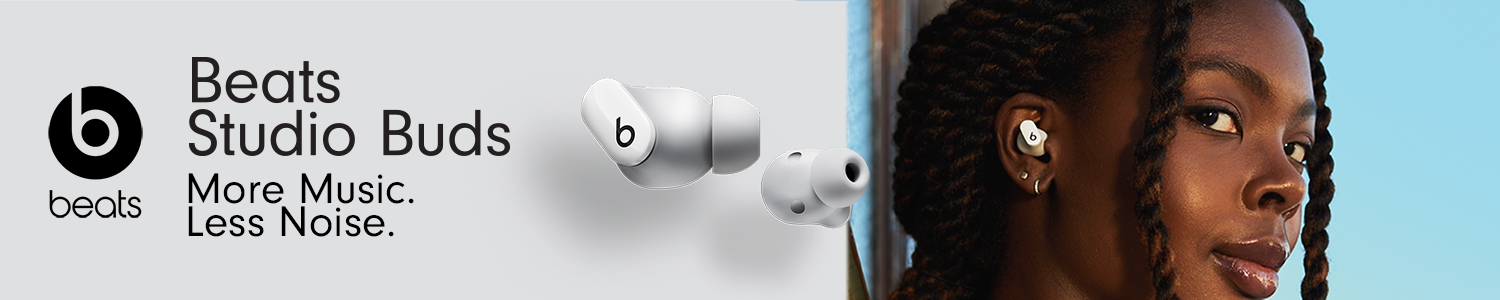 Beats Studio Buds: More Music. Less Noise.