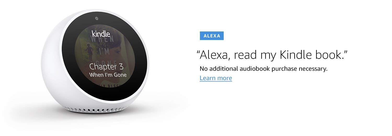 Alexa, read my Kindle book.