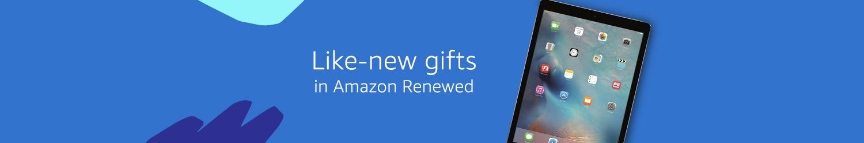 Like-new gifts in Amazon Renewed