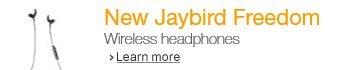 New Jaybird Wireless Headphones