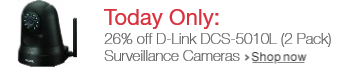 Today Only: 28% off D-Link Surveillance Camera