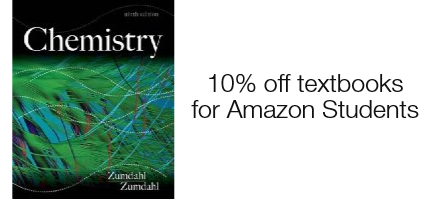 10% additional savings on textbooks for Amazon Students