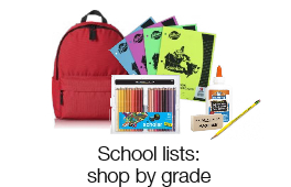 School lists: shop by grade