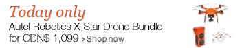 Today only: Autel Robotics Drone Bundle deal for CDN$ 1099