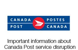 Canada Post service disruption