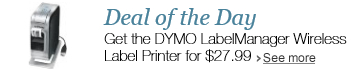Deal of the Day: Get the DYMO LabelManager Wireless Label Printer for $27.99