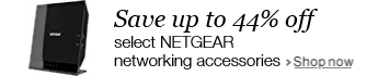 Save up to 44% off select NETGEAR