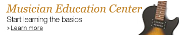 Musician Education Center: Start learning the basics