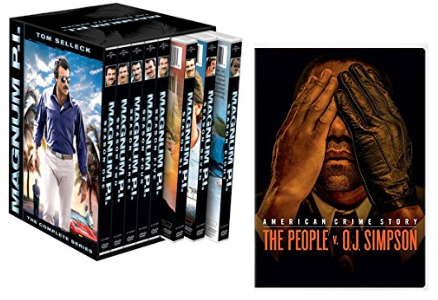 """Amazon Deal of the Day: Up to 62% off """"Magnum P.I.: The Complete Series"""" and """"The People v OJ Simpson"""""""