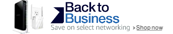 Back to Business: Up to 40% off select networking
