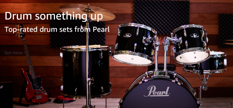 Drum something up - Top-rated drum sets from Pearl
