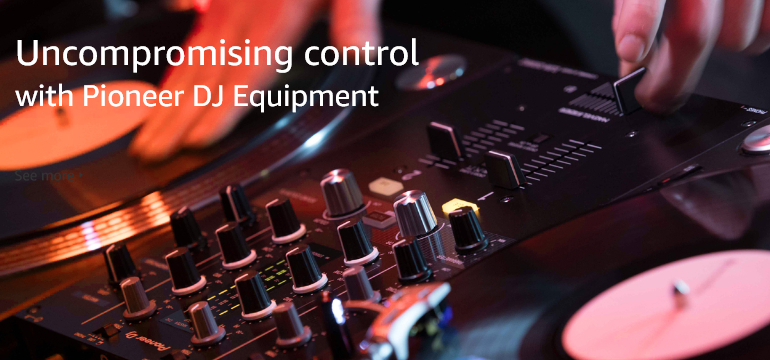 Uncompromising control with Pioneer DJ Equipment