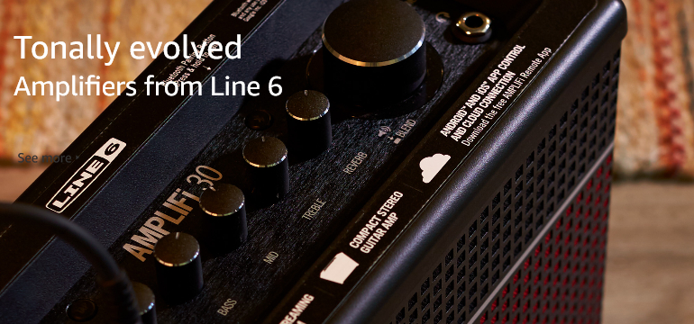 Tonally evolved amplifiers from Line 6