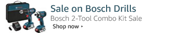 Up to 30% Off Bosch 18-Volt 2-Tool Combo Kit