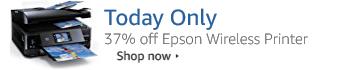 Save 37% on Epson Wireless Inkjet Printer