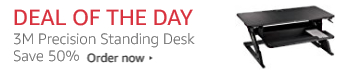 Deal of the Day,3M Standing Desk