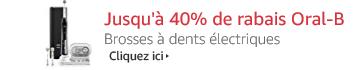 Jusqu'à 40% de rabais Oral-B brosses à dents électriques