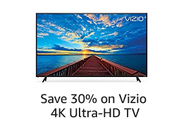 Spotlight Deal: Save 30% on Vizio 4K UHD TV