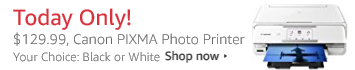 Deal of the Day, Canon PIXMA Photo Printer
