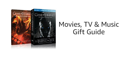 Movies, TV and Music Gift Guide