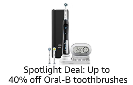 Up to 40% off Oral-B
