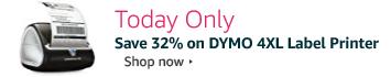 Save 32% on Dymo 4XL Label Printer