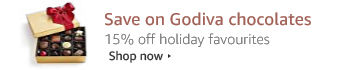 Save on Godiva chocolates