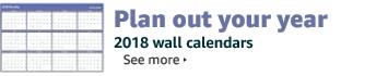 2018 Wall Calendars