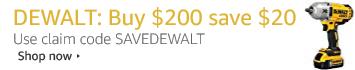 DEWALT buy more save more