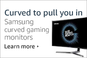 Curved to pull you in - Samsung curved gaming monitors