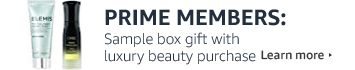 Prime Members: Free sample box with $30 luxury beauty purchase