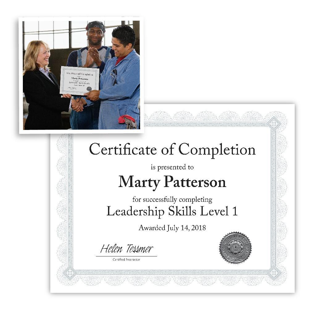 southworth certificate seals achievement gold 12 count
