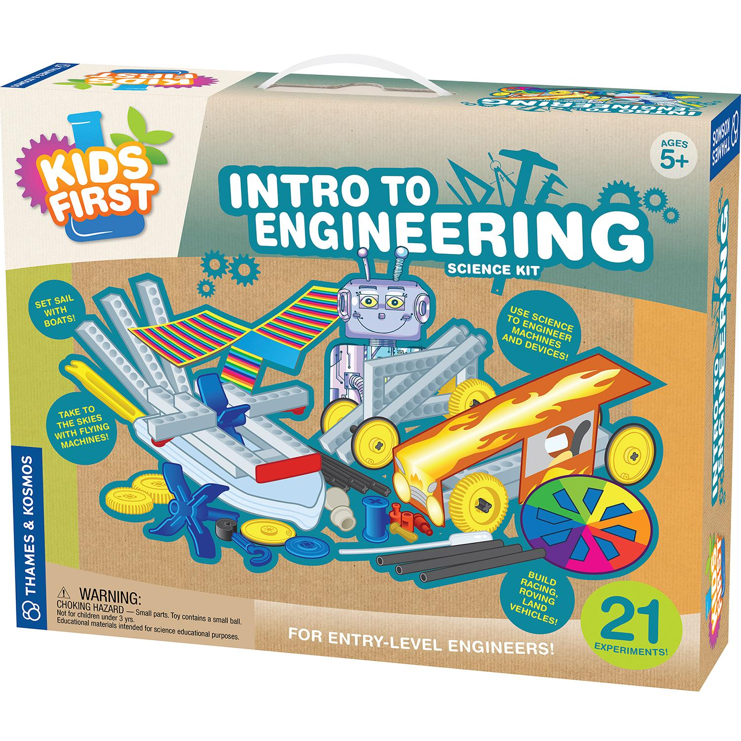 Thames & Kosmos Kids First Intro to Engineering Kit Motorcycles