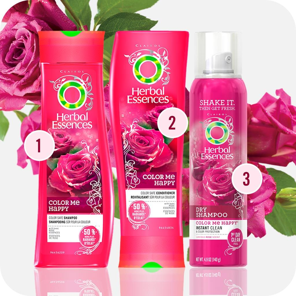 Herbal Essences Color Me Happy Shampoo for Colour-Treated Hair, 300 ...
