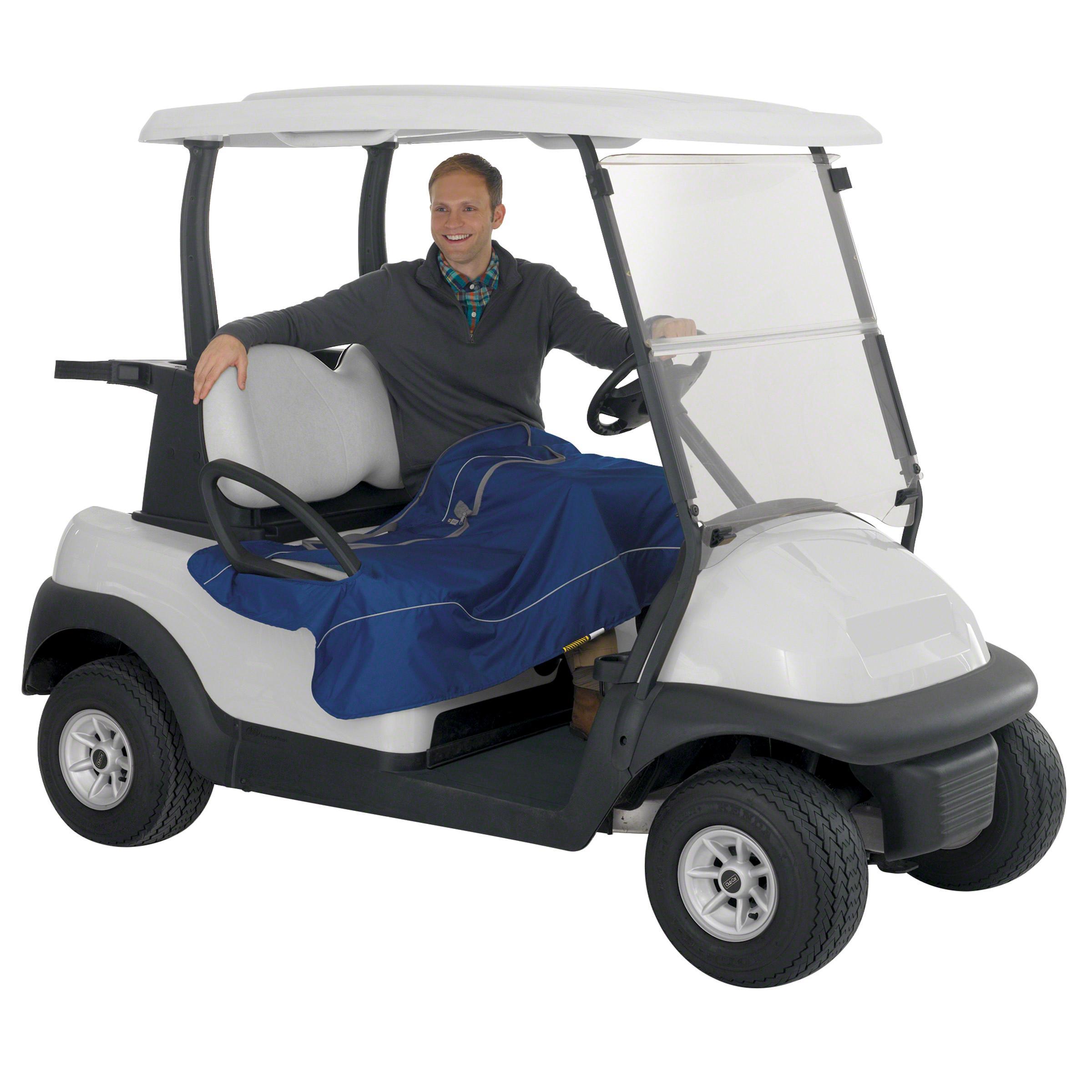 Classic Accessories Golf Cart Seat Blanket Navy News Golf