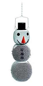 Solar Snow Man Wild Bird Feeder