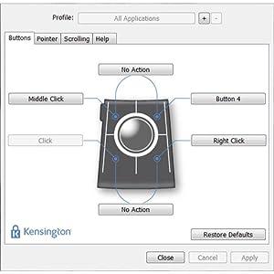 TrackballWorks Software